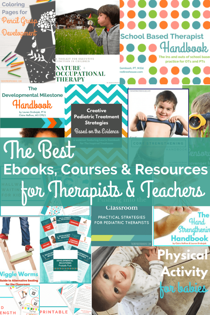 child development resources for teachers and therapists