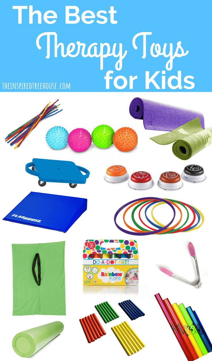 fun therapy toys for kids