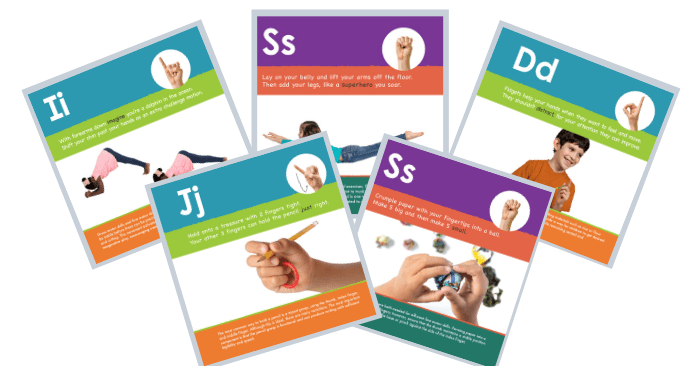 Pages of the Skill Builder Books