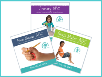 The ABC Series from Skill Builder Books – Fine Motor, Sensory, and Gross Motor Resources