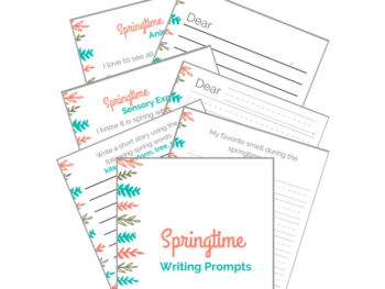 writing activities for kids