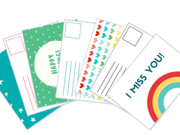 Free Postcard Templates for Kids