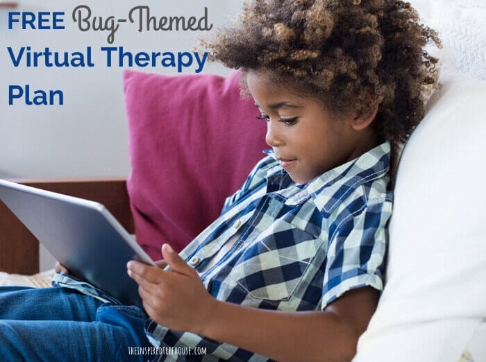 kid sitting on couch looking at tablet