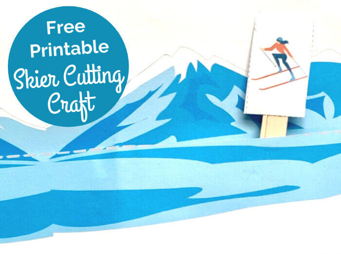 picture of paper winter cutting craft